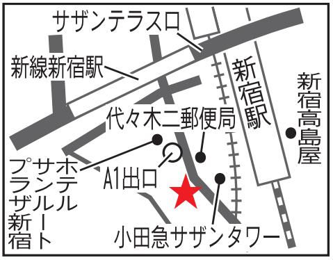 TOTOテクニカルセンター プレゼンテーションホール地図